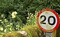 20 mph please - geograph.org.uk - 941349.jpg