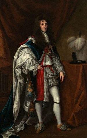 Aubrey de Vere, 20th Earl of Oxford - Image: 20th Earl Of Oxford Colour