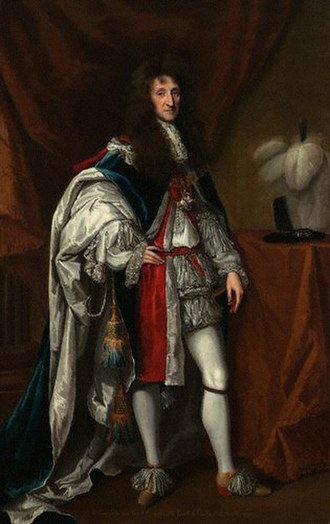 Royal Horse Guards - Aubrey de Vere, 20th Earl of Oxford, colonel of the regiment in 1661