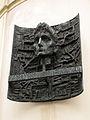 238 Plaça de Franz Kafka, bust a la casa natal de l'escriptor.jpg