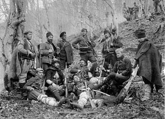 Cheta - Internal Macedonian-Adrianople Revolutionary Organization cheta in Osogovo (March 1903).