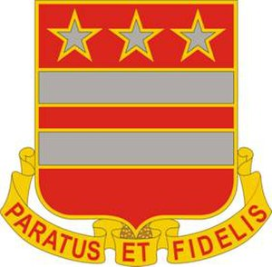 27th Infantry Brigade Combat Team (United States) - Image: 258FARegt DUI