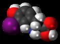 3-Iodotyrosine 3D spacefill.png