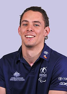 Cody Meakin Australian male wheelchair rugby Paralympian,
