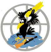 312 Bombardment Sq (later 527 Fighter Sq) emblem.png