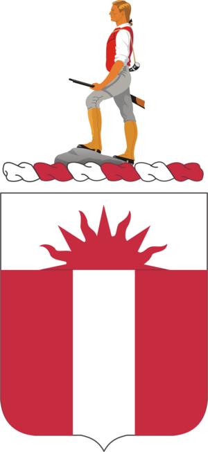 321st Engineer Battalion (United States) - Coat of Arms of the 321st Engineer Battalion
