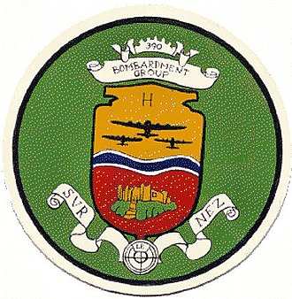 390th Strategic Missile Wing - Image: 390thbombgroup emblem