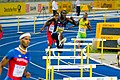 400 m hurdles Kerron Clement Berlin 2009.jpg