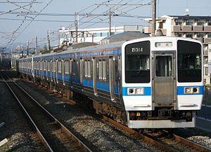 San'yō Main Line - JR Kyushu 415 series EMU