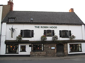 Monmouth Heritage Trail - Robin Hood Inn