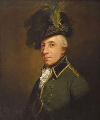 Battle of Charlotte - George Hanger, portrait by Thomas Beach