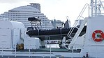 5.4m class RHIB(PS18-M1) aboard on Bort deck of JCG Sanrei(PS-18) right front view at Port of Kobe Novenber 11, 2017.jpg