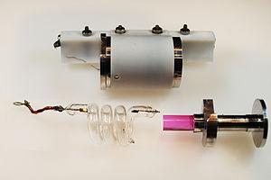 Ruby laser - Components of original ruby laser