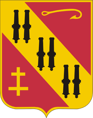 31st Air Defense Artillery Brigade (United States) - Image: 5th Air Defense Artillery Regiment DUI