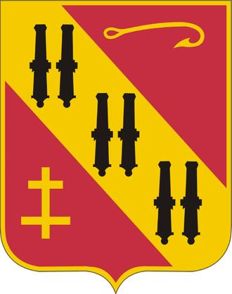 69th Air Defense Artillery Brigade (United States) - Image: 5th Air Defense Artillery Regiment DUI