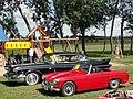 62 MG Midget & 58 Cadillac Series 62 (6129168762).jpg