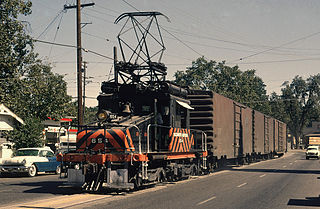 Sacramento Northern Railway Rail line