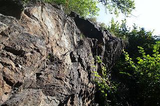 rocher gravé Garreta