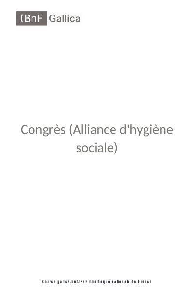 File:7e Congrès hygiène sociale Roubaix 1911.djvu