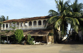 Grand-Bassam - Colonial house in Grand-Bassam