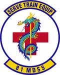 81 Medical Support Sq emblem.png