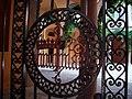 8711 - Milano - Cancello del Palazzo Borromeo d'Adda in Via Manzoni - Foto Giovanni Dall'Orto, 13-Sept-2007.jpg