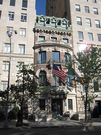 American Irish Historical Society - Headquarters in Manhattan
