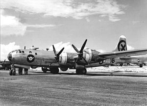 James H. Kasler - B-29 at North Field in Tinian