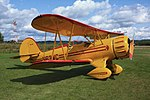 A315, Waco biplane, Bar Harbor airport, Maine, USA, 2009.JPG