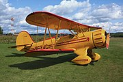 A315, Waco biplane, Bar Harbor airport, Maine, USA, 2009