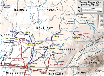 Battle of Shiloh - Wikipedia