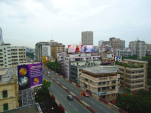AJC Bose Road & APC Road - AJC Bose Rd flyover