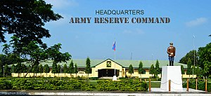Philippine Army Reserve Command - Facade of the Headquarters Building of the Army Reserve Command at Tanza, Cavite.