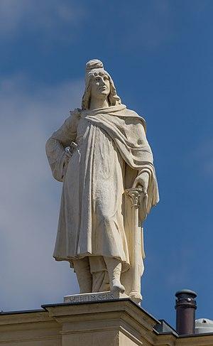 William of Sens - William of Sens, roof figure at the Museum of History of Art, Vienna