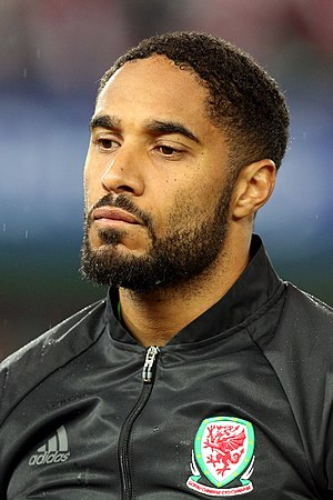 Ashley Williams (footballer) - Williams lining up for Wales in 2016
