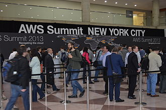 Amazon Web Services - AWS Summit 2013 event in NYC.
