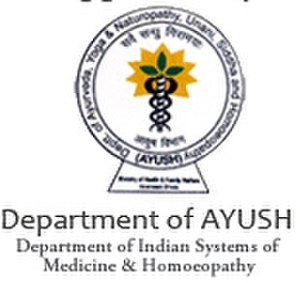 Ministry of AYUSH - An official logo the Department of AYUSH