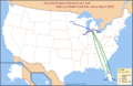 AZO Airline Route Map-2010 Nov.png