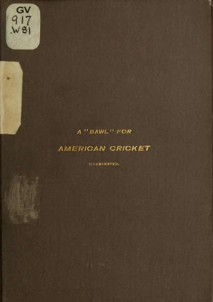 "File:A ""Bawl"" for American Cricket.djvu"