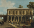 A CAPRICCIO OF THE PRISONS OF SAN MARCO SET IN A PIAZZA.PNG