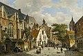 A Dutch Street Scene in Summer by Willem Koekkoek.jpg