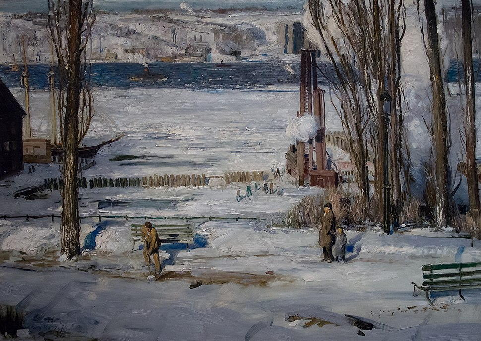 A Morning Snow-Hudson River at the Brooklyn Museum (80534)a