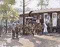 A Red Cross Train, France Art.IWMART1031.jpg