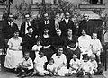 A felső sorban balról a második Tavaszy Sándor későbbi kolozsvári református teológiai tanár, püspökhelyettes, középen Ravasz László későbbi dunamelléki református püspök, mellette jobbra Makkai Fortepan 20489.jpg