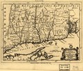 A map of the colonies in Connecticut and Rhode Island, divided by counties & townships, from best authorities. LOC 99466765.tif
