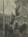 A nova bandeira hasteada no Monumento aos Restauradores - O Occidente (10Dez1910).png