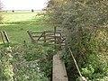 A path-bridge onto Swine Moor - geograph.org.uk - 2131541.jpg