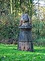 A sculpted tree stump - geograph.org.uk - 284804.jpg
