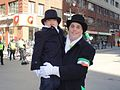 A seasoned and young marshal in Montreal's St Patrick's parade.jpg