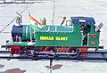 A still of 2.5 ftx11inch Miniature Working Train built by Guinness World Record holder Shri Iqbal Ahmed of Nagpur, at National Rail Museum during the Museum Day Celebrations in New Delhi on February 1, 2005.jpg